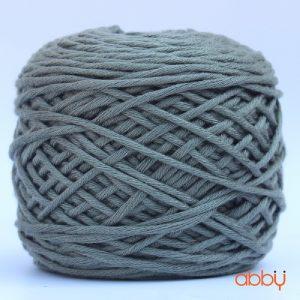 Len cotton bánh - màu pha ghi xanh rêu - số 32