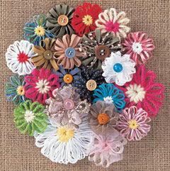 Sản phẩm hoa sau khi đan