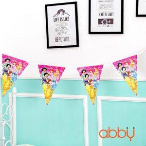 Dây cờ trang trí sinh nhật Princess