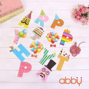 Dây chữ trang trí sinh nhật Happy Party