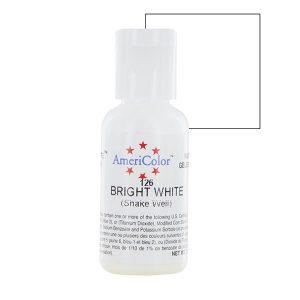 Màu AmeriColor Bright White 0.75oz