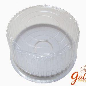 Hộp nhựa tròn đựng bánh gato 16cm