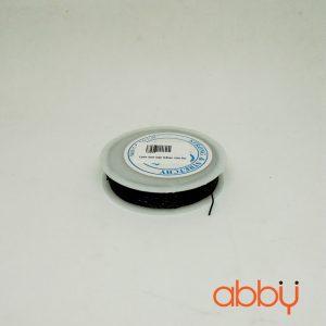 Cước thun cuộn 0,8mm màu đen