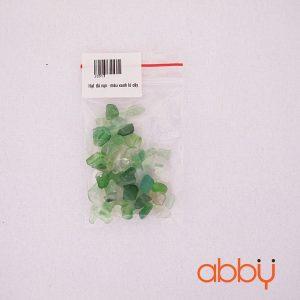 Hạt đá vụ - màu xanh lá cây