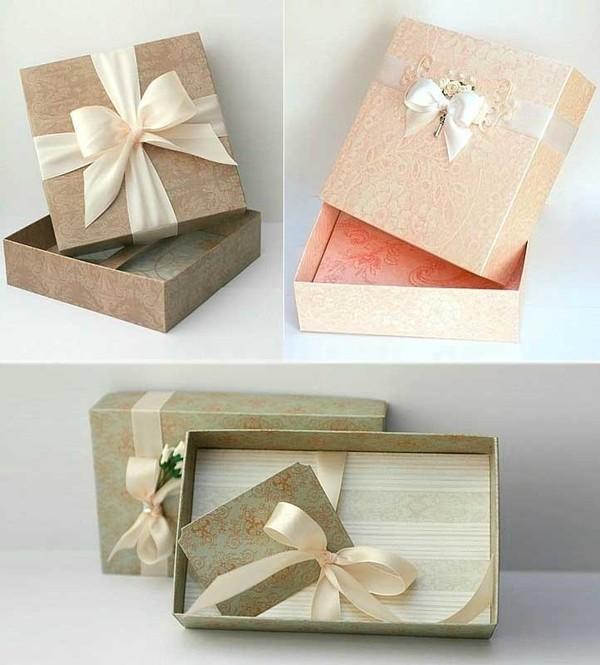 Những hộp quà có nắp cực đẹp bạn hoàn toàn có thể tự tay làm tại nhà