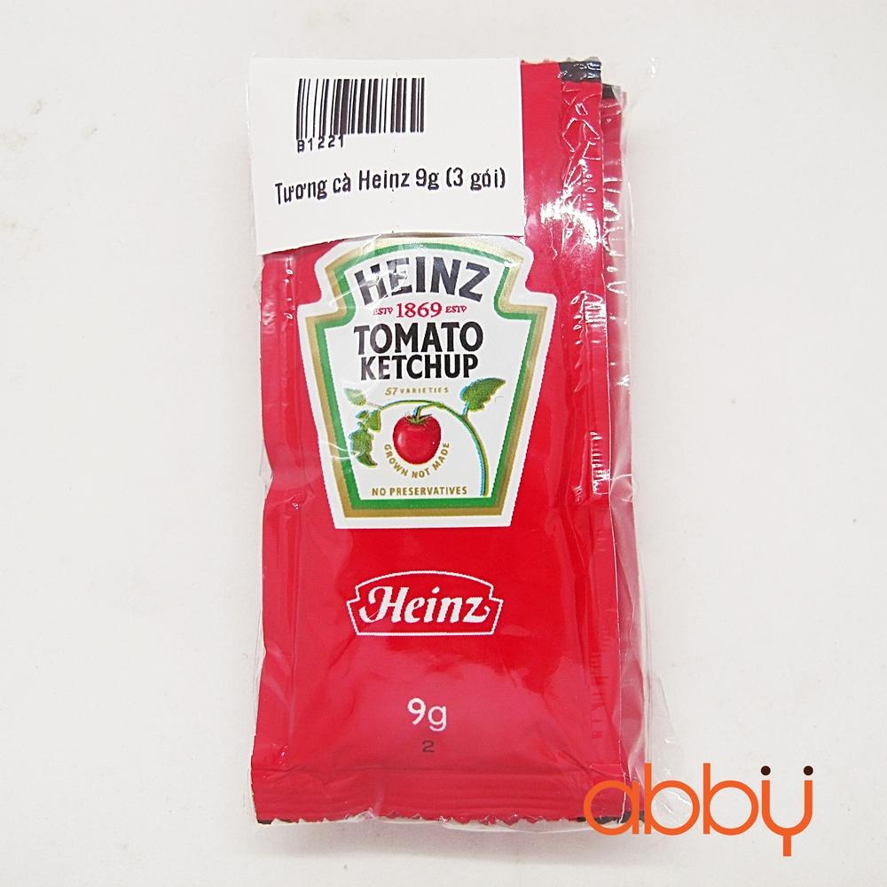 Tương cà Heinz 9g (3 gói)