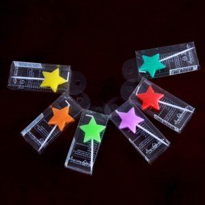 Nến ngôi sao màu