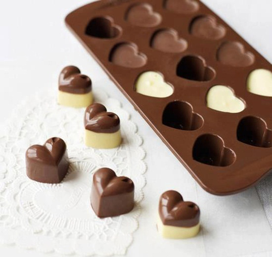 Cách làm socola hình trái tim cực đẹp để tặng người ấy ngày Valentine