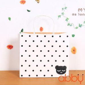 Túi đựng quà 25x22x12cm Gấu xinh