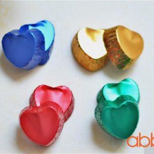 Cup thiếc trái tim (5 chiếc)