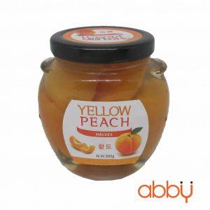 Đào ngâm Yellow peach 300g