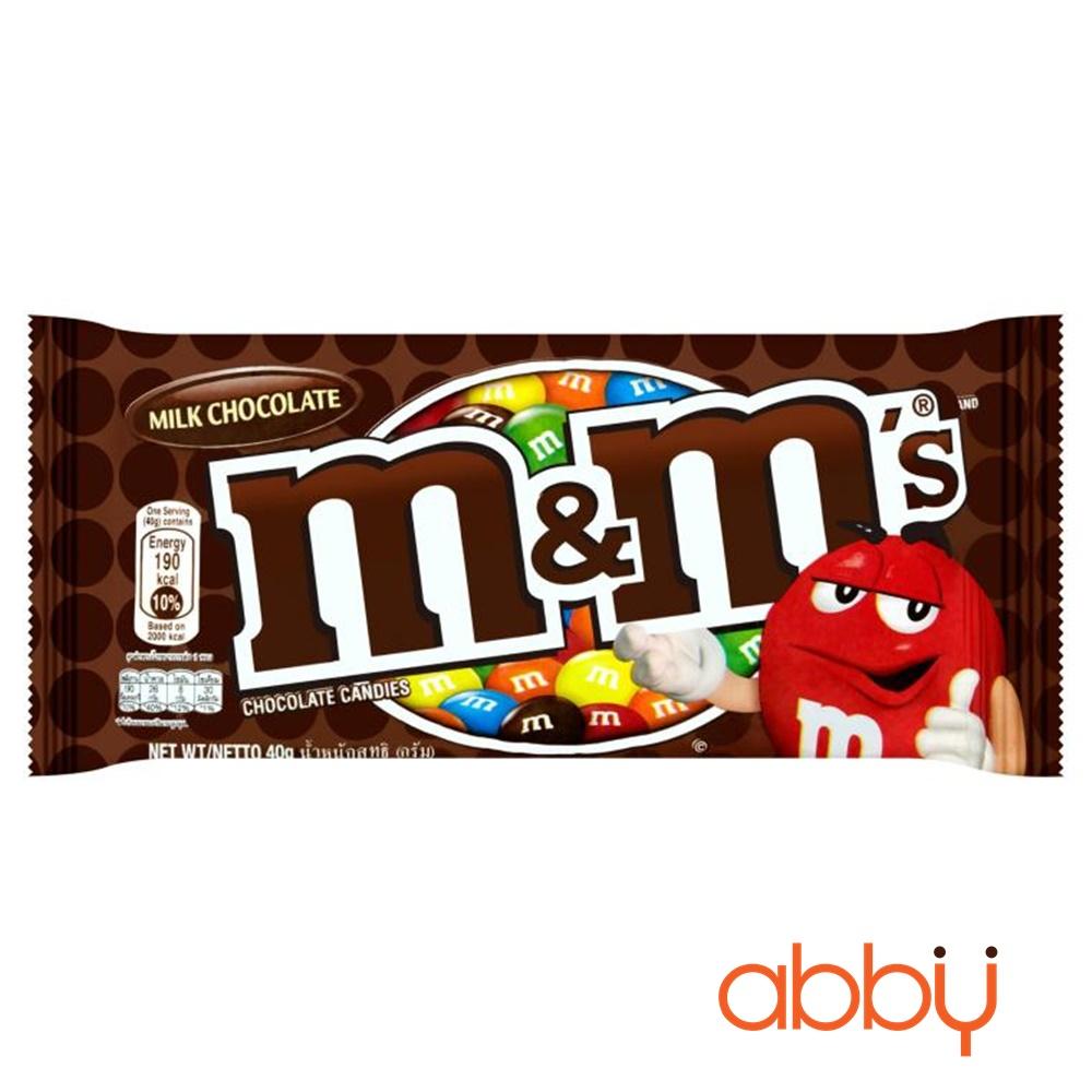 Kẹo M&M nhân sữa 40g