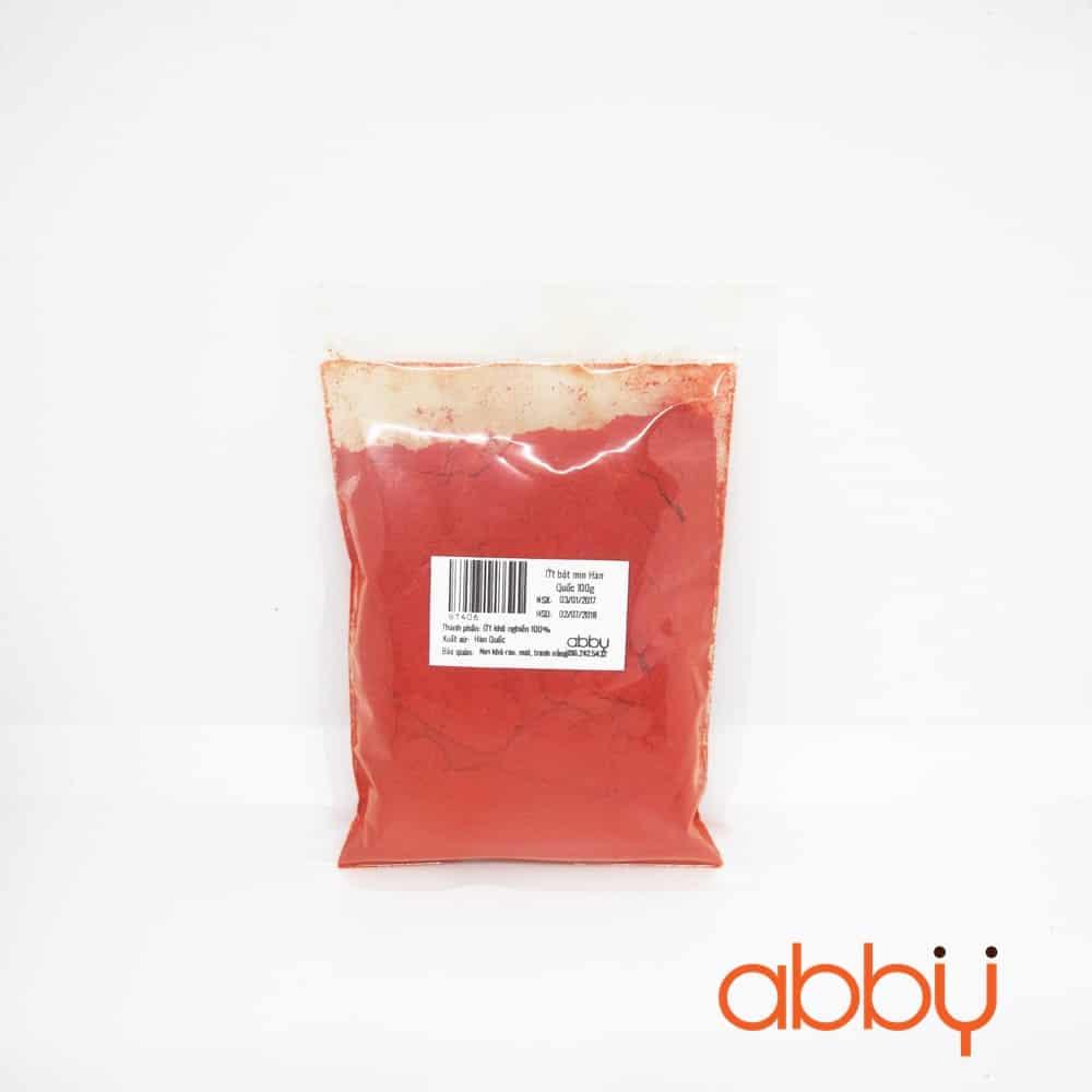 Ớt bột mịn Hàn Quốc 100g