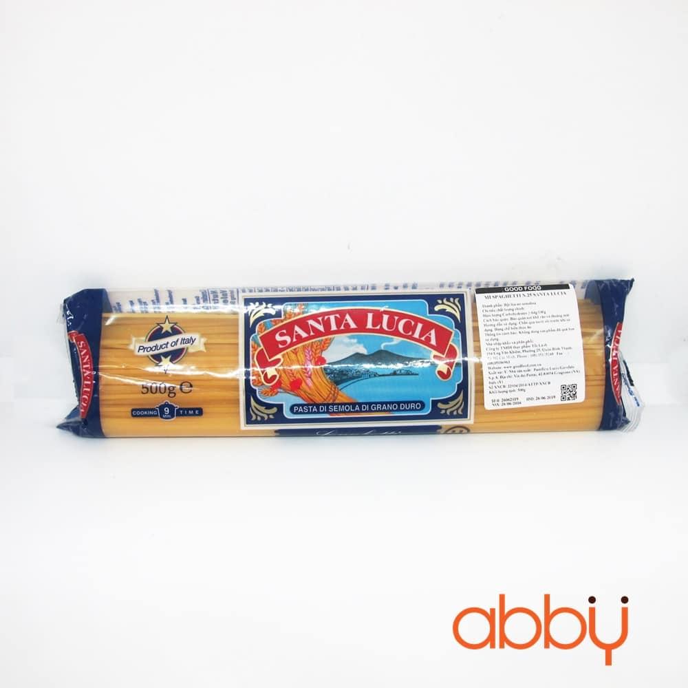 Mì Spaghetti N.25 Santa Lucia 500g