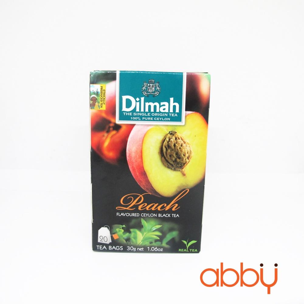 Trà Dilmah đào (20 gói x 1,5g)