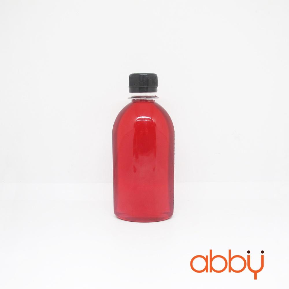 Chai nhựa PET nắp đen 250mll