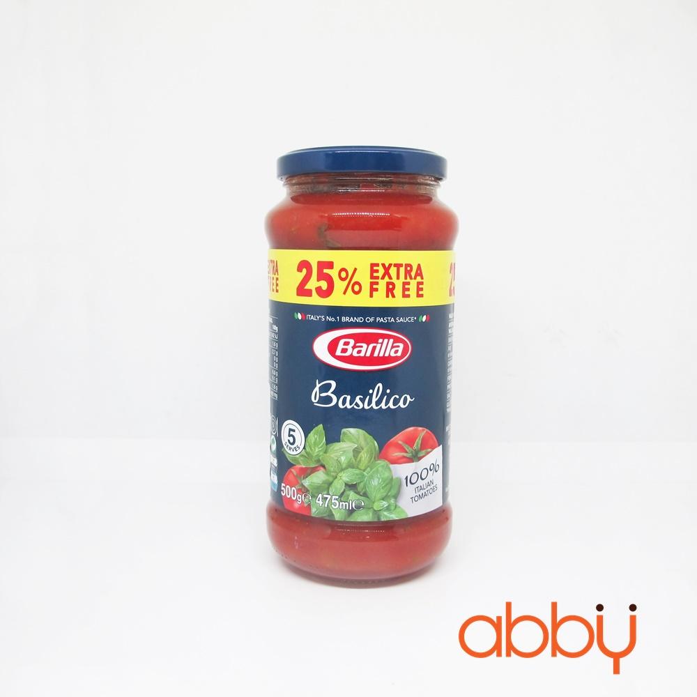 Sốt cà chua Basilco Barilla 500g