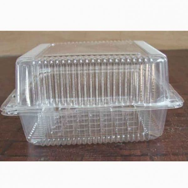 Hộp nhựa đựng bánh vuông (10 chiếc)