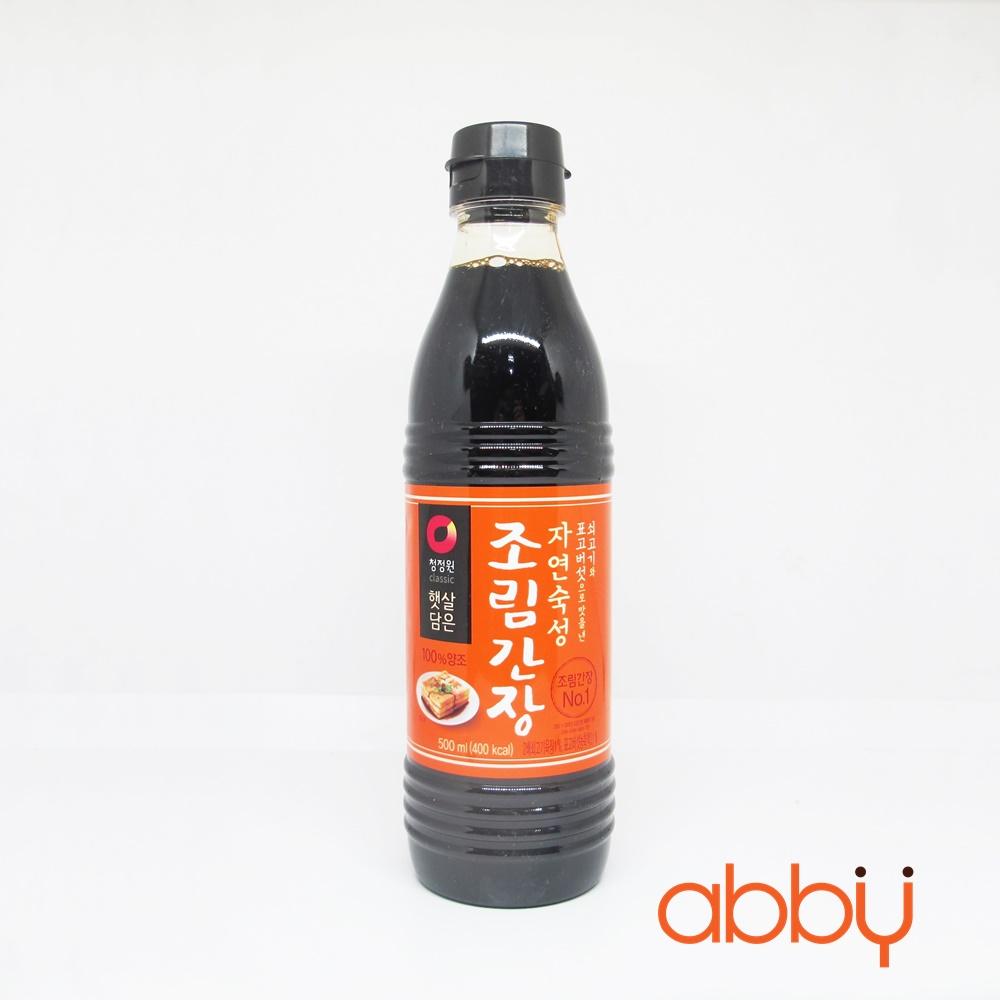 Xì dầu Hàn Quốc