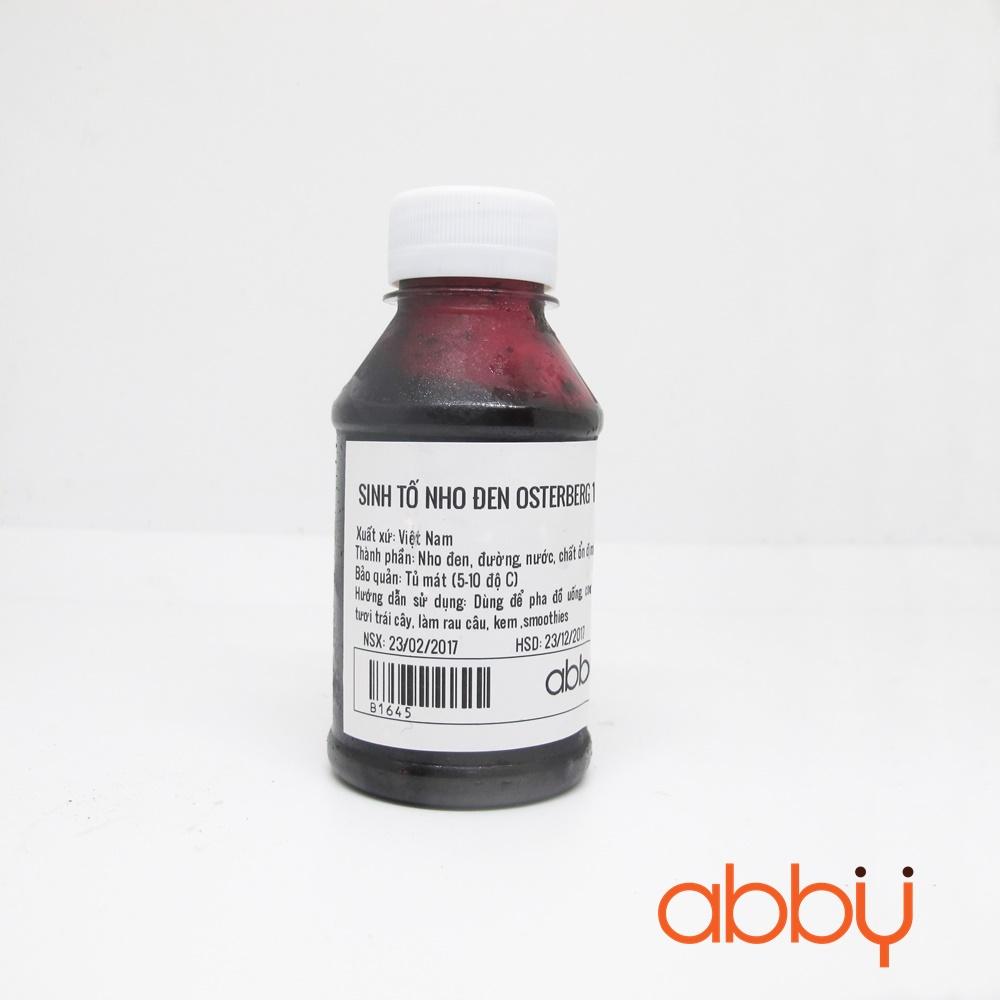 Sinh tố nho đen Osterberg 100ml