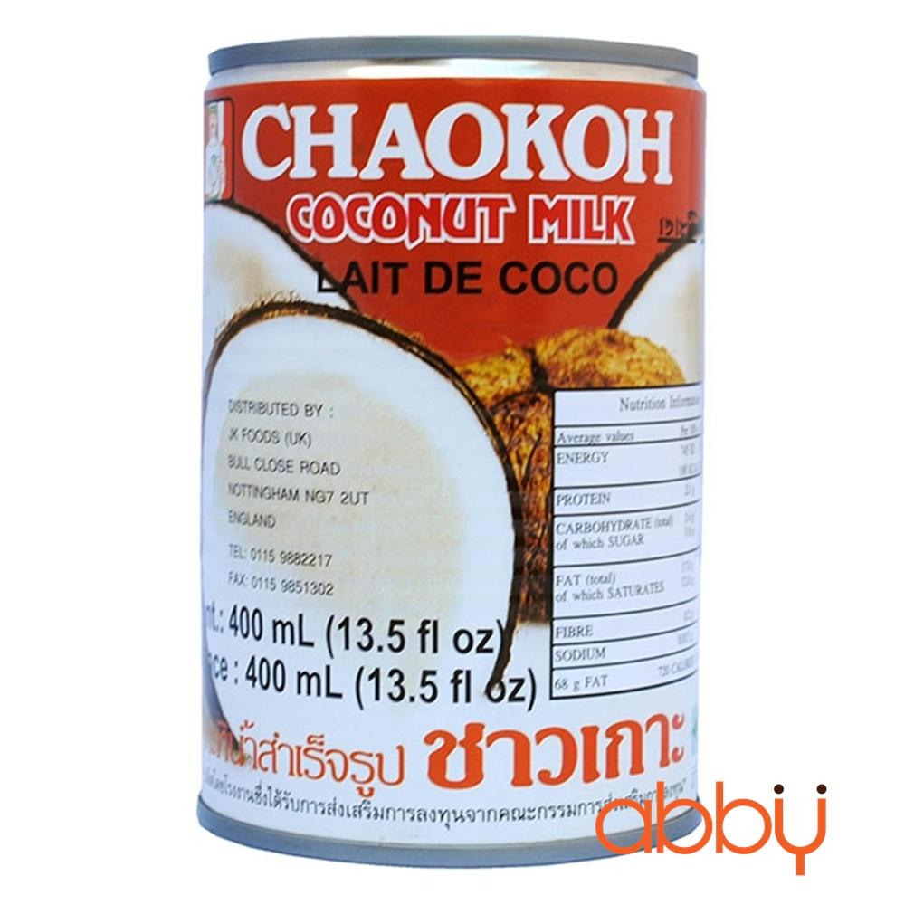 Nước cốt dừa Chaokoh Thái 400ml