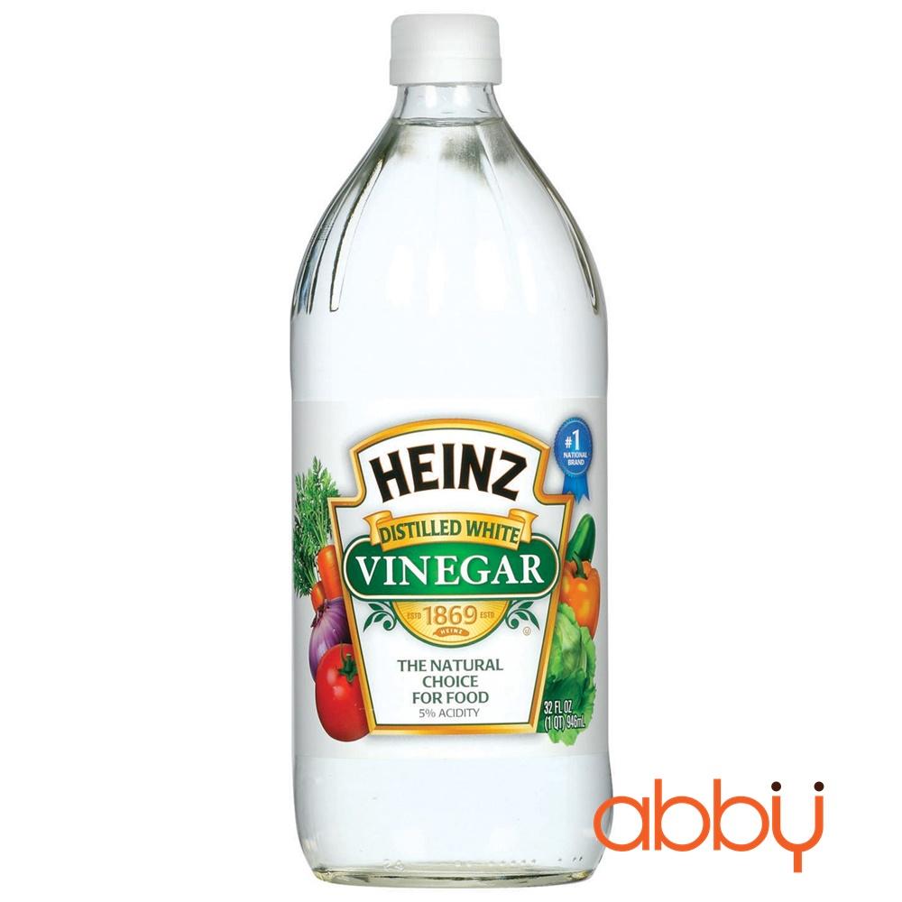Giấm trắng Heinz 473ml