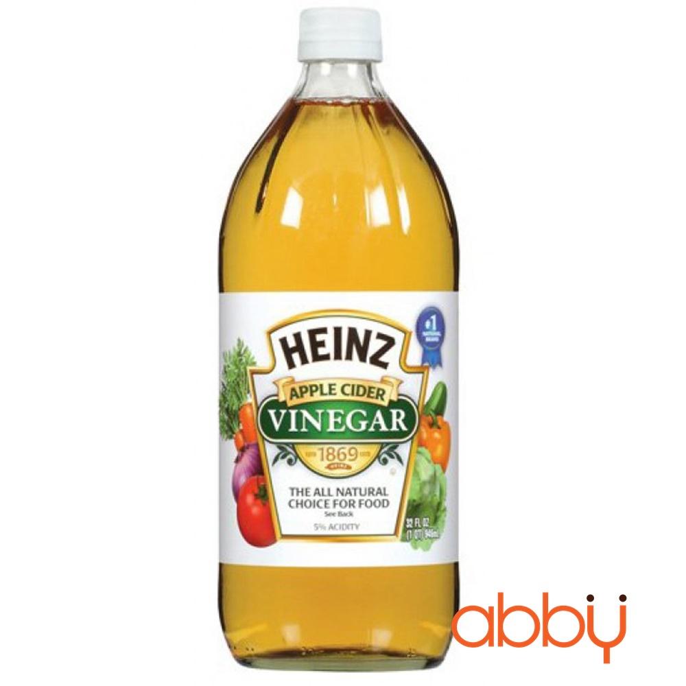 Giấm táo Heinz 473ml