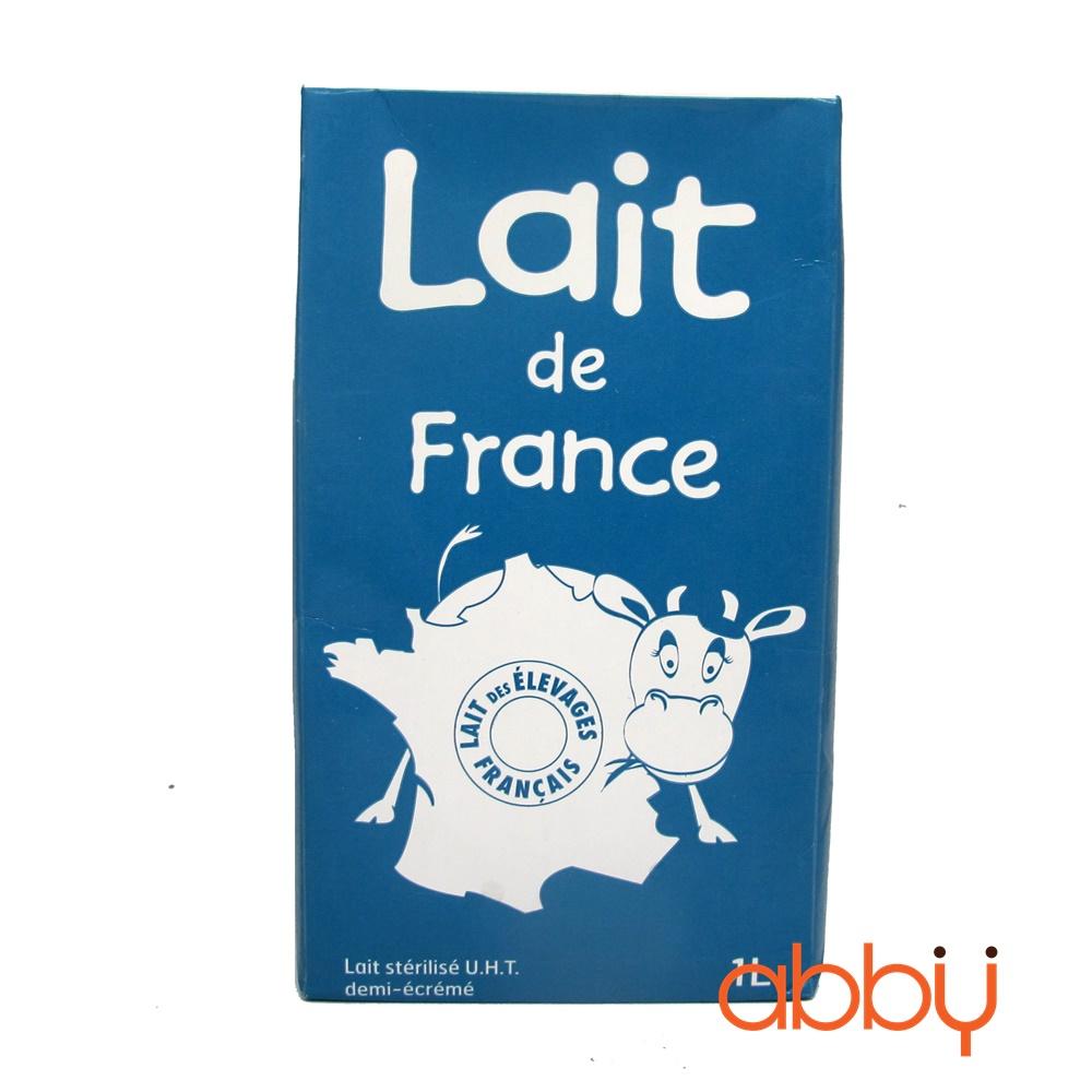 Sữa tươi Lait de France ít béo 1L