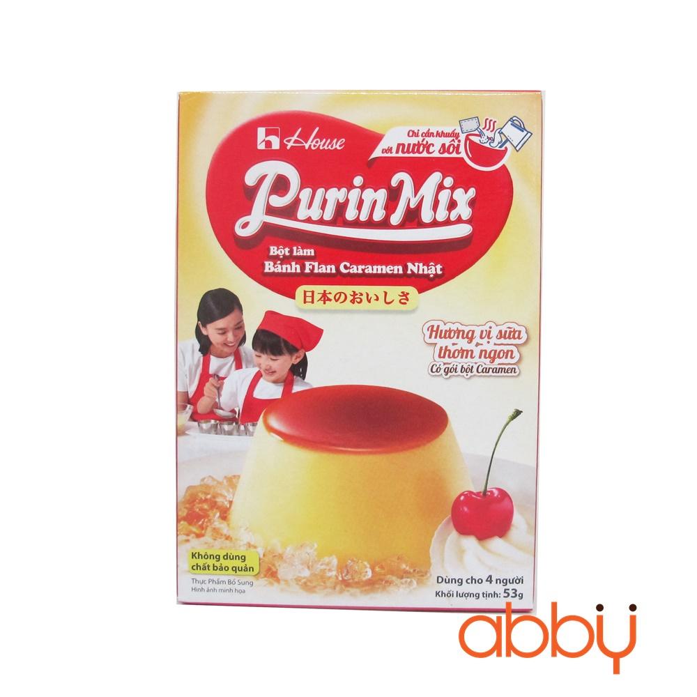 Bột làm bánh Flan Nhật Bản vị caramen Purin Mix 37g