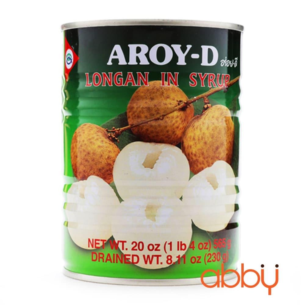 Nhãn ngâm đường Aroy-D 565g