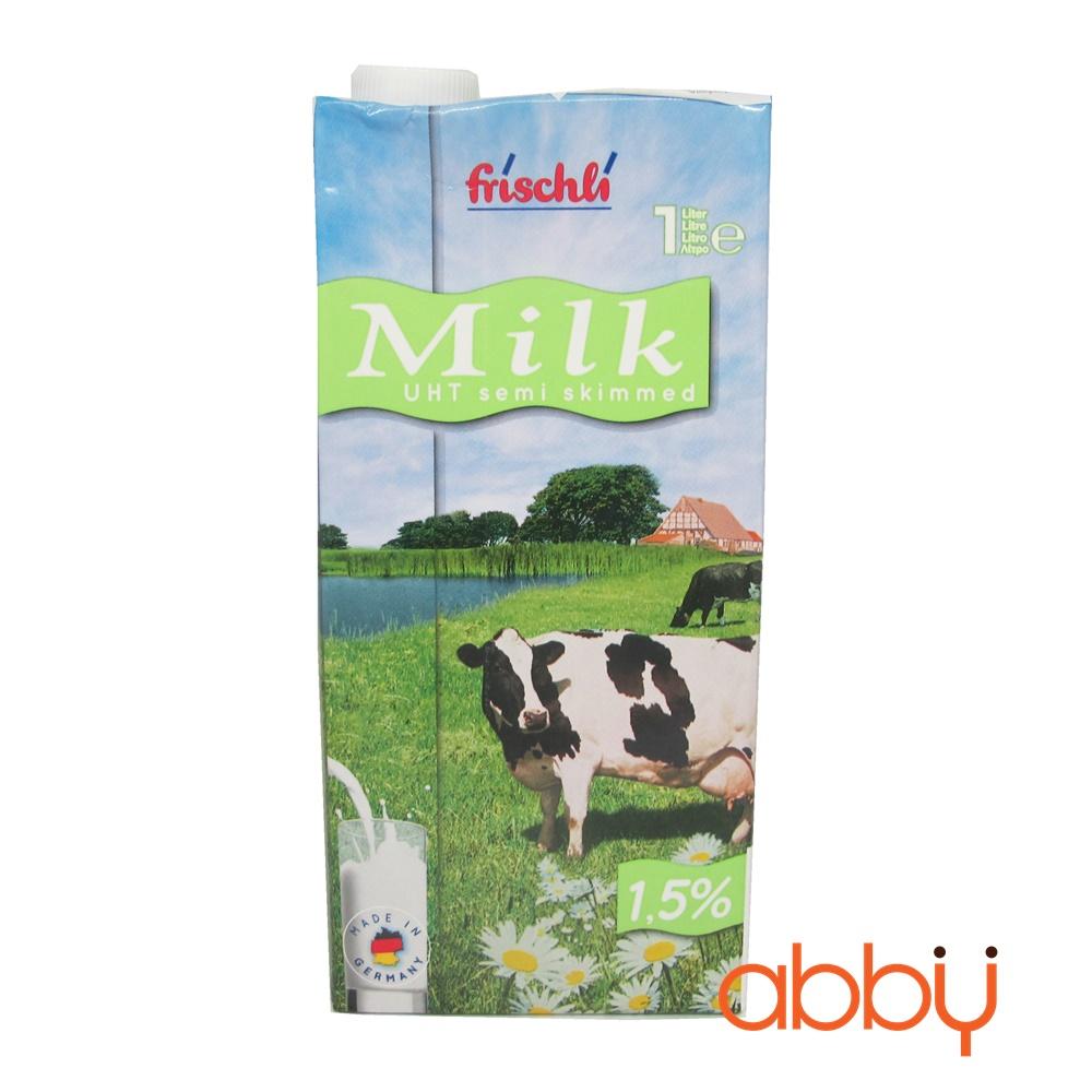 Sữa tươi ít béo 1,5% Frischli 1L
