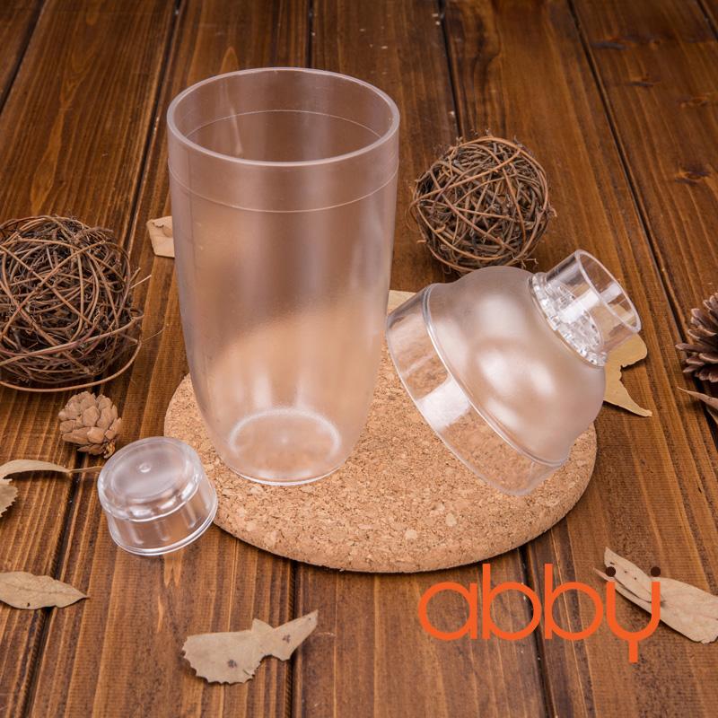 Bình lắc pha chế nhựa Cocktail Shaker 700ml