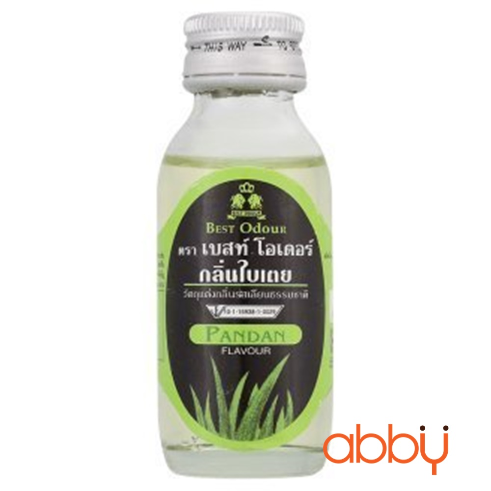 Tinh dầu lá dứa Best Odour Thái 60ml