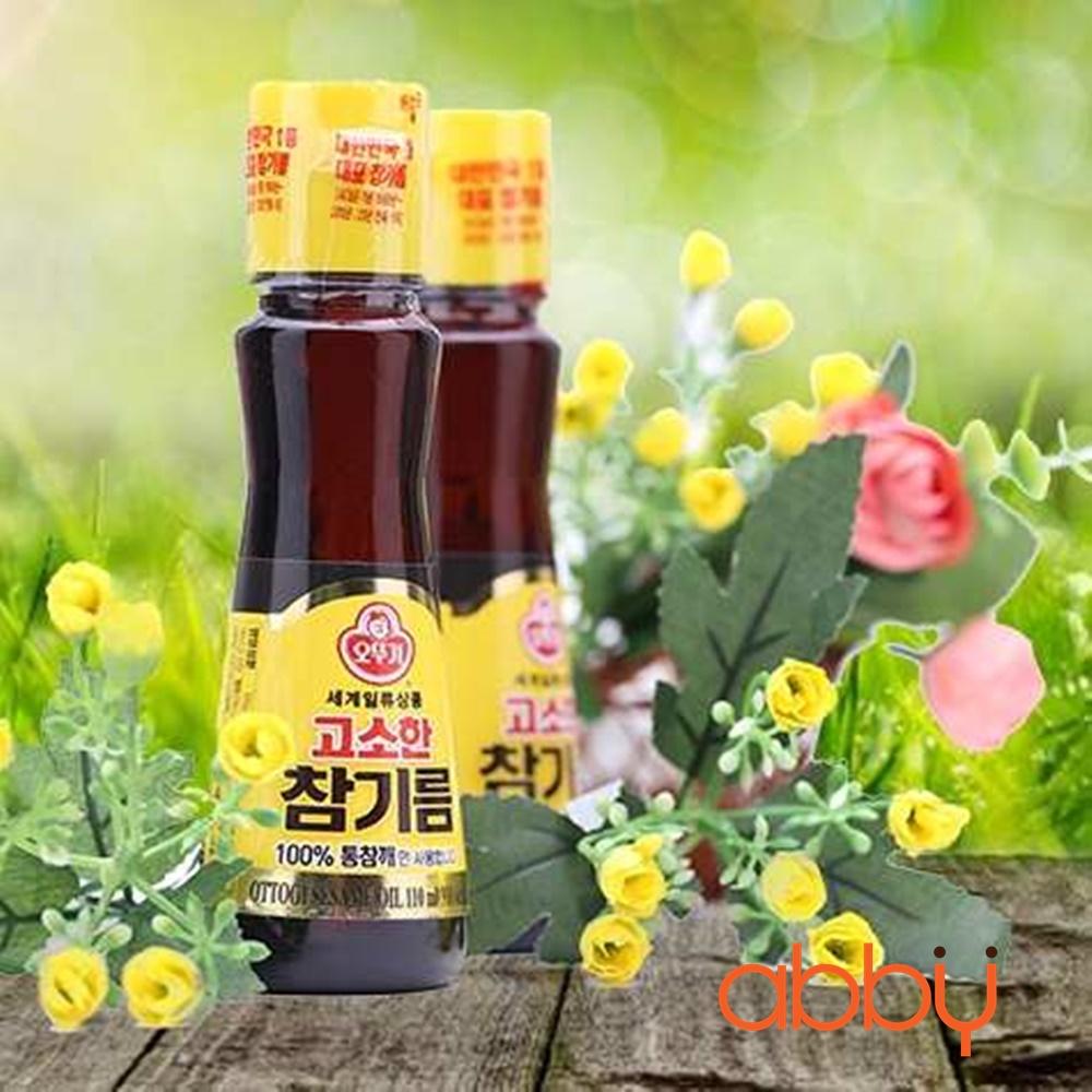 Dầu mè Ottogi Hàn Quốc 110ml