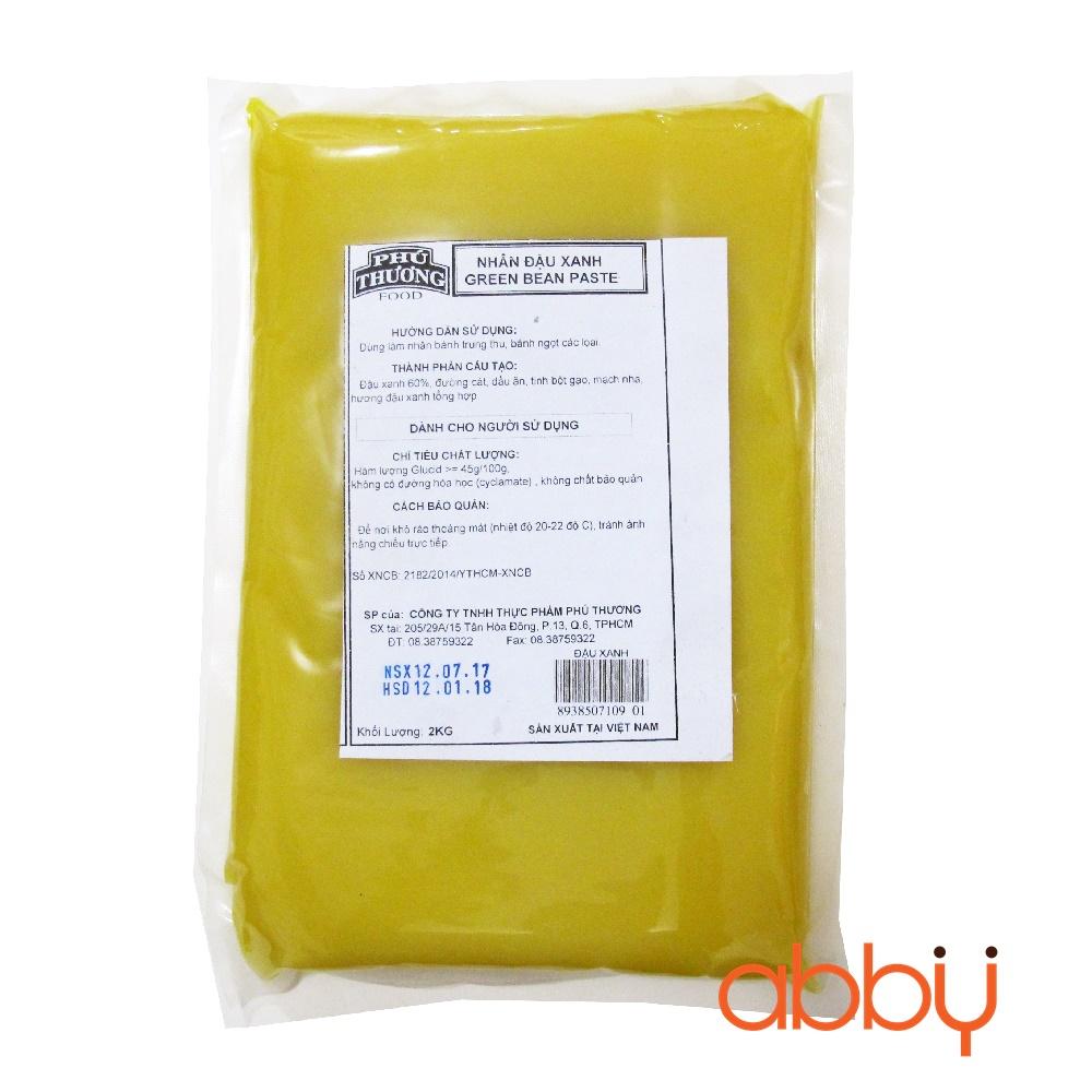Nhân đậu xanh Phú Thương 2kg