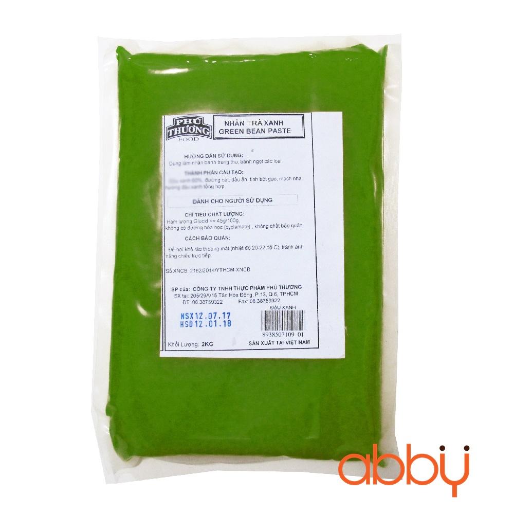 Nhân trà xanh Phú Thương 2kg