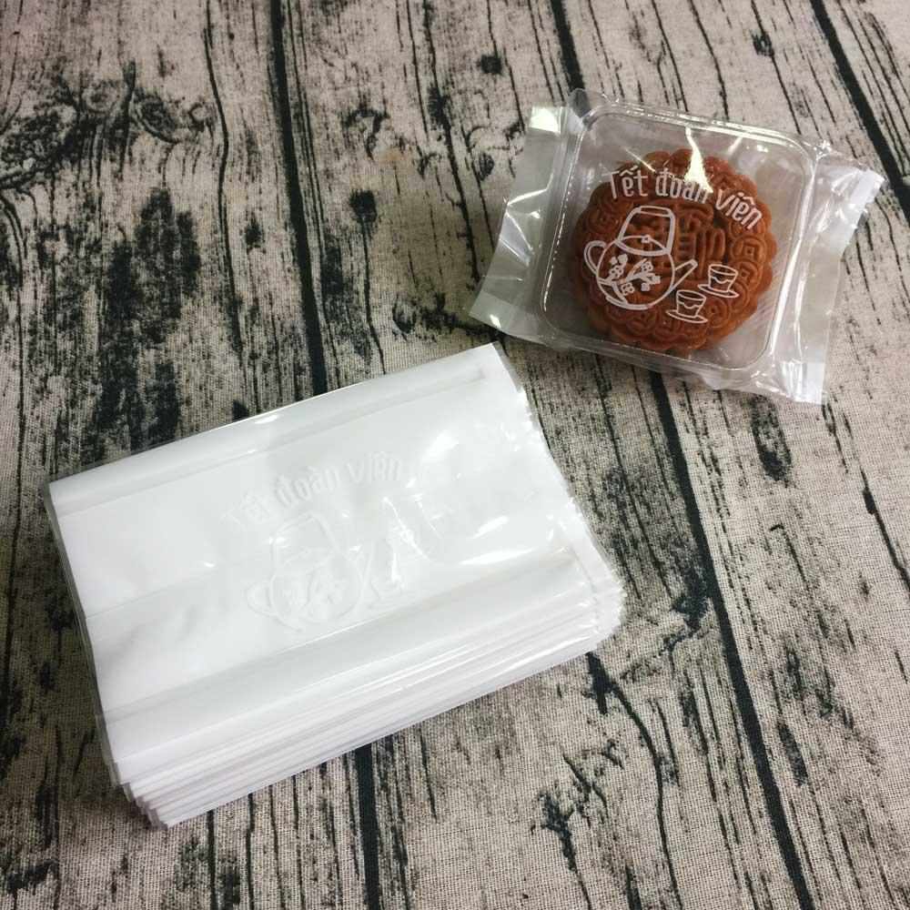 Túi đựng bánh trung thu 125-150g ấm trà (100 túi)