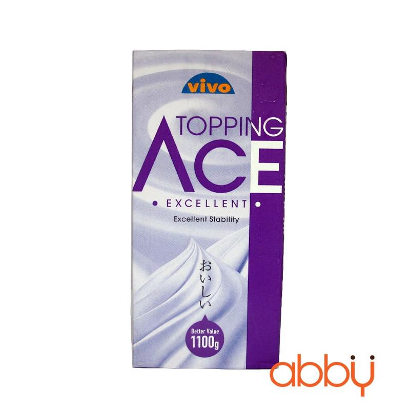 Kem topping Vivo Ace Excellent 1.1kg