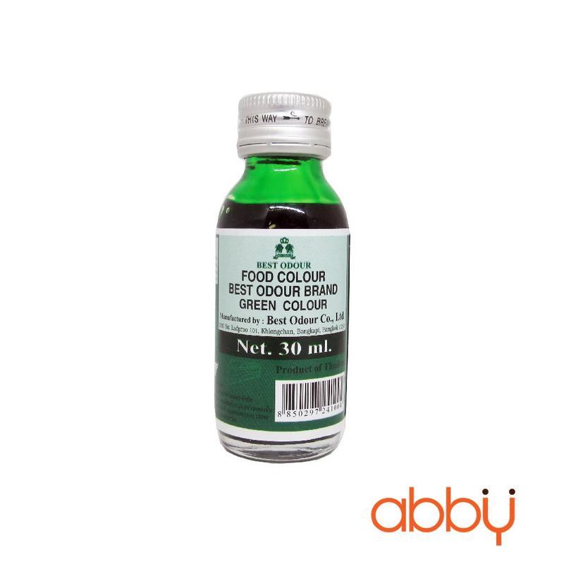 Màu nước Best Odour xanh lá 30ml