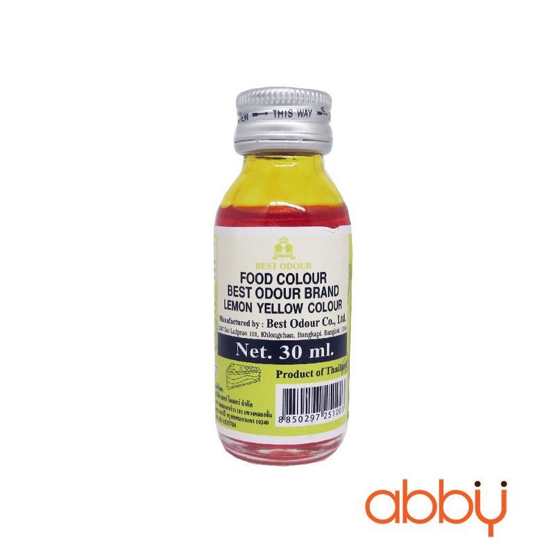 Màu nước Best Odour vàng chanh 30ml