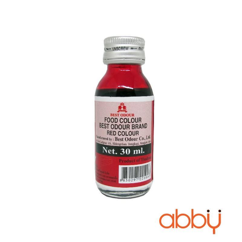 Màu nước Best Odour đỏ 30ml