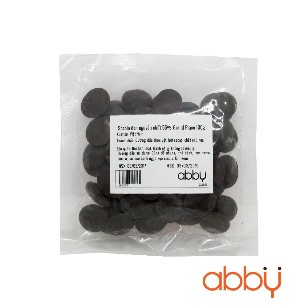 Socola đen nguyên chất 55% Grand Place 100g