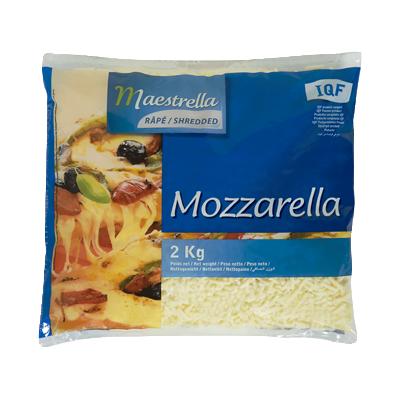 Phô mai Mozzarella bào Maestrella 2kg
