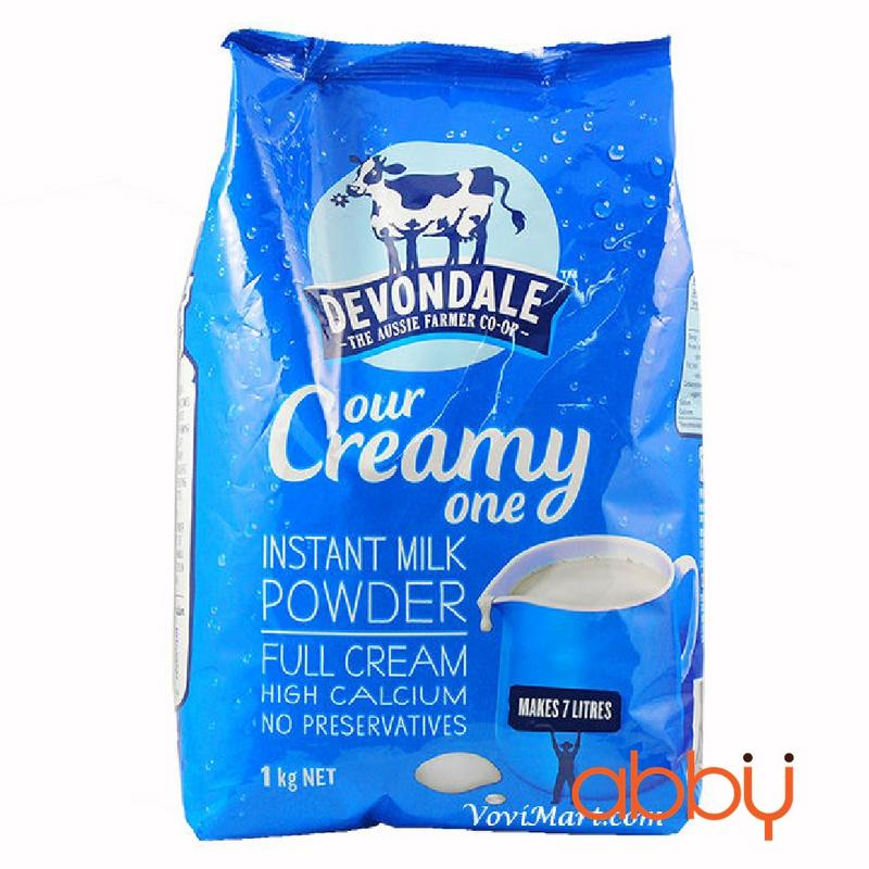 Sữa bột nguyên kem Devondale 1kg