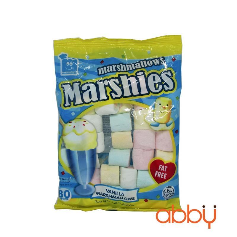 Kẹo marshmallow hương vani Marshies 80g