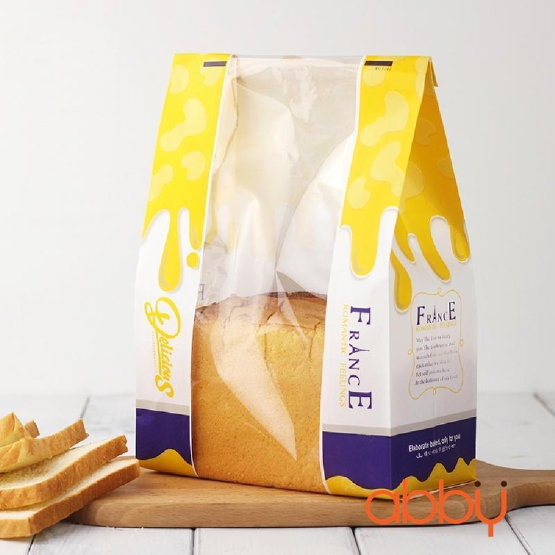 Túi đựng bánh mì Delicious 31x21x9cm (10 chiếc)