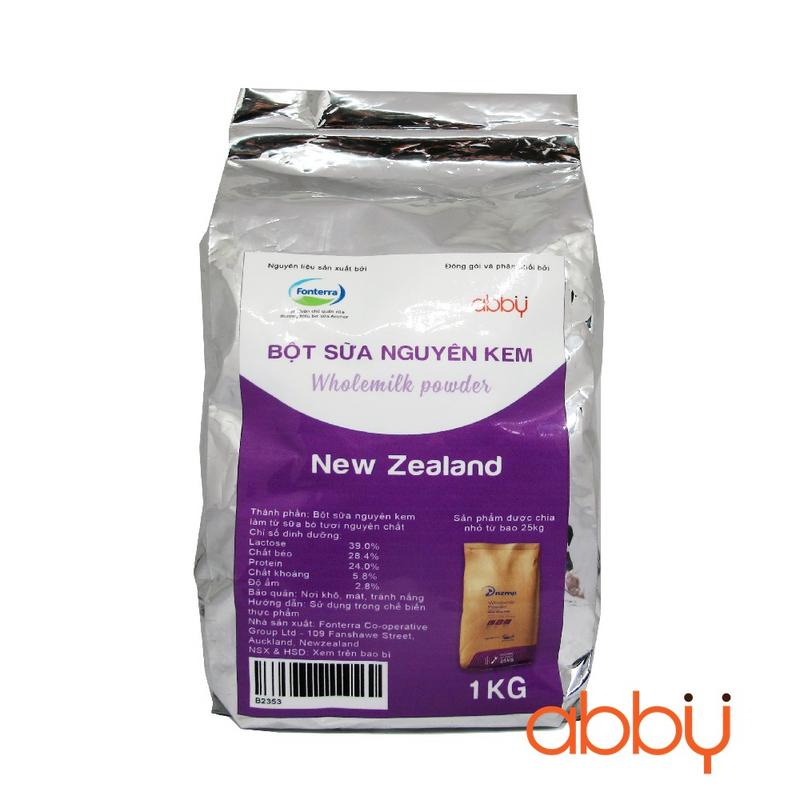 Bột sữa nguyên kem New Zealand 1kg