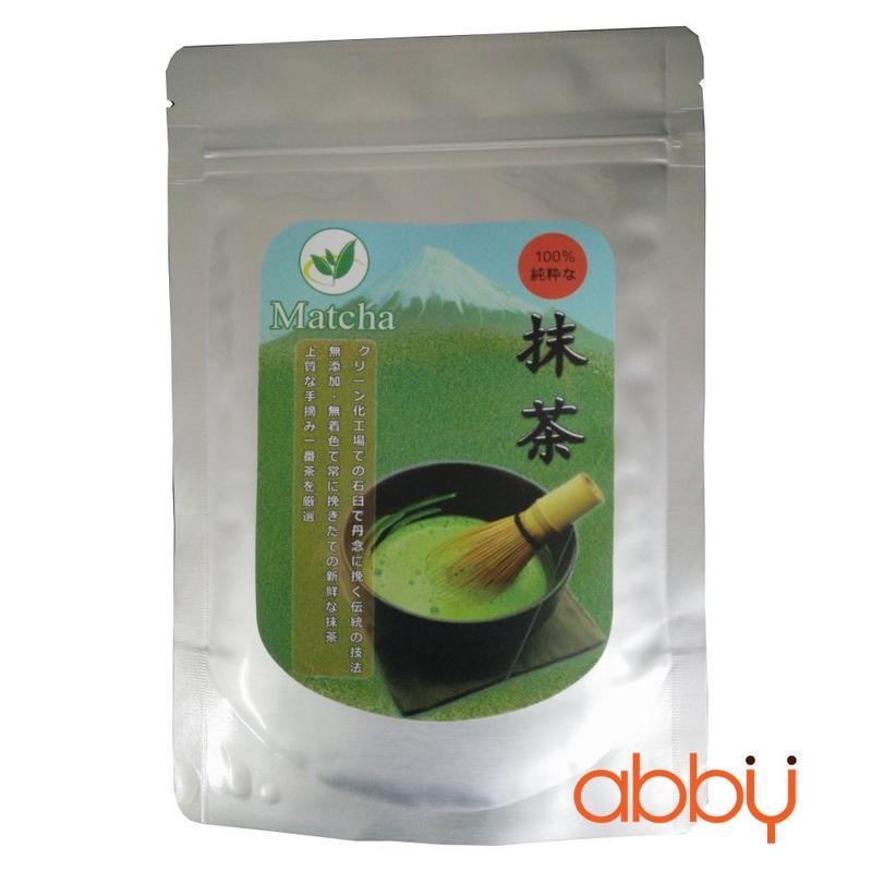 Bột trà xanh Nhật Bản Vụ Xuân Haru 500g