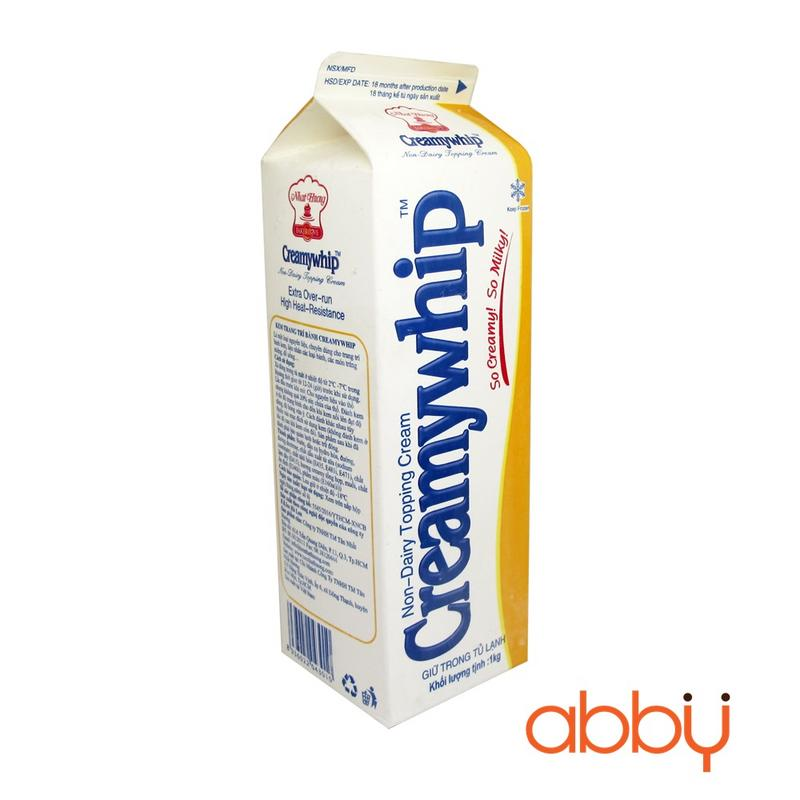 Kem topping Creamywhip 1kg
