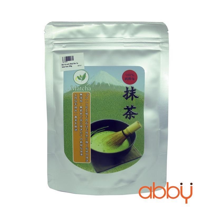 Bột trà xanh Nhật Bản Vụ Xuân Haru 100g